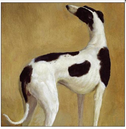 Noble Dog Greyhound Card - Woodmansterne