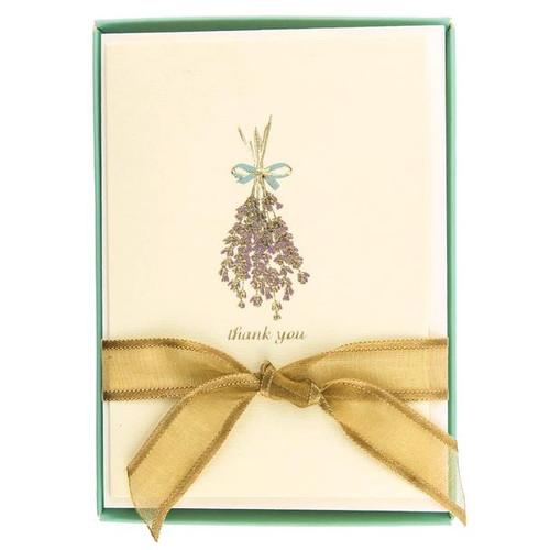 Boxed Cards- Lavender, La Petite Presse by Graphique de France.
