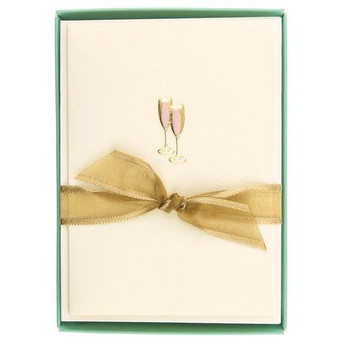Boxed Cards- Pink Champagne, La Petite Presse by Graphique de France.