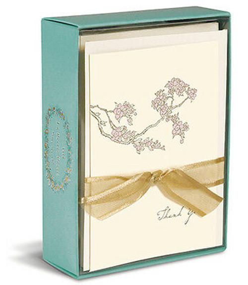 Boxed Cards- Thank you Cherry Blossom, La Petite Presse by Graphique de France.