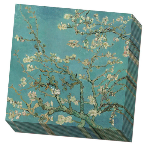 Paper Napkins by Bekking & Blitz - Blossoms on Blue