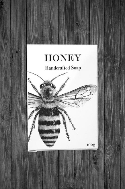 Cathy Hamilton - Honey Bee Art Soap