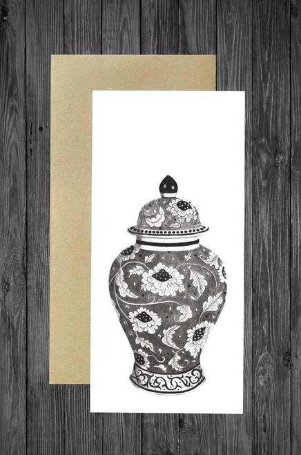 Cathy Hamilton Artworks - Ginger Jar Card