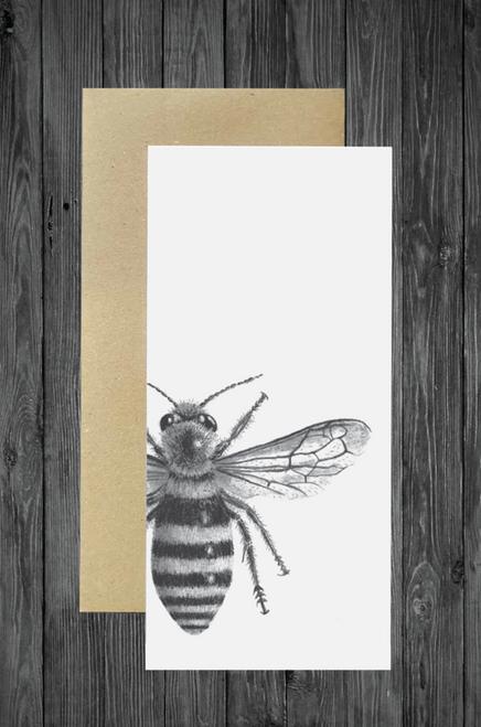 Cathy Hamilton Artworks - Honey Bee Card