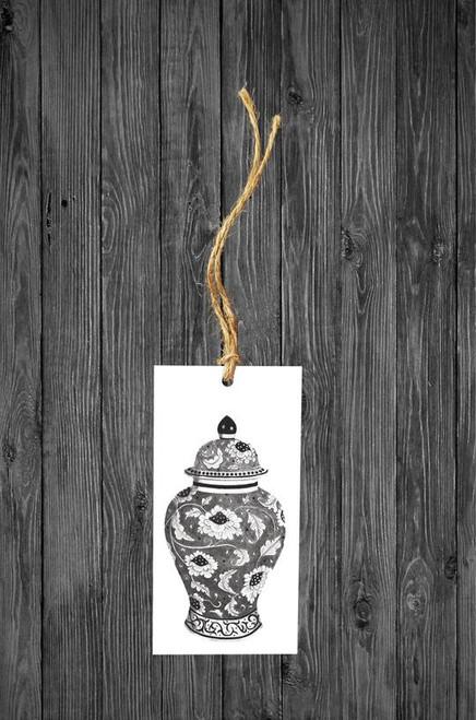 Cathy Hamilton Artworks- Ginger Jar Gift Tag Card