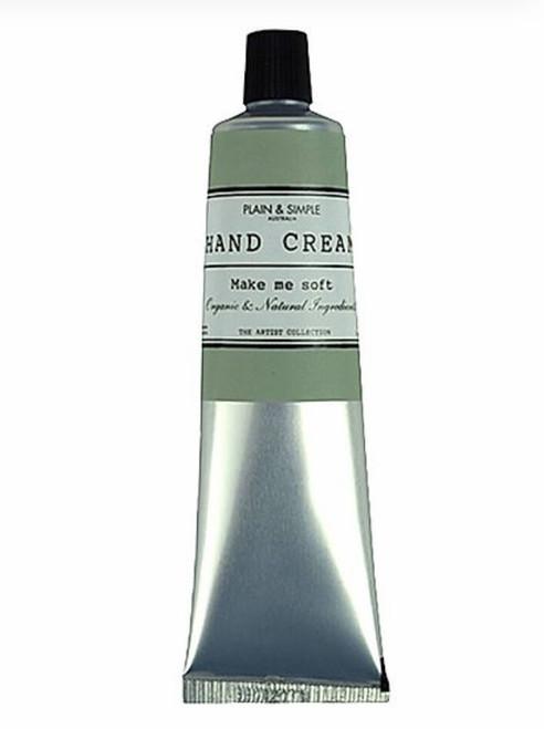 Plain & Simple - Artist Hand Cream 50ml – Cucumber, Sage & Lavender