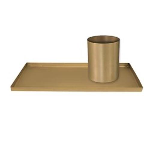Boston Brass Desk Organizer Décor Styling Piece