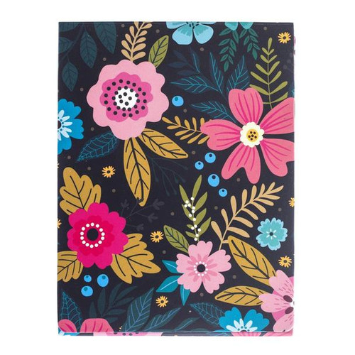 Graphique de France – Pocket Notebook- Navy Floral