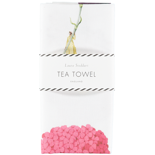Laura Stoddart - IN BLOOM TEA TOWEL - MULTI FLOWER