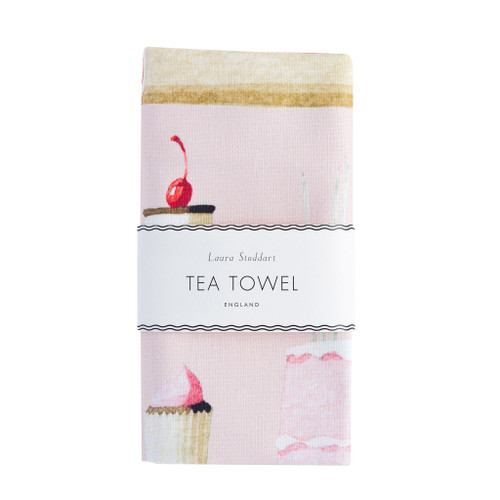 Laura Stoddart - CAKES TEA TOWEL