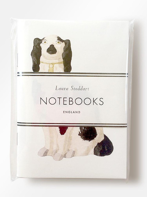 Laura Stoddart - ODD DOGS - PAIR OF SMALL NOTEBOOKS
