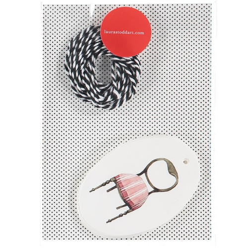 Laura Stoddart - MUSICAL CHAIRS - Gift Tags, Packet