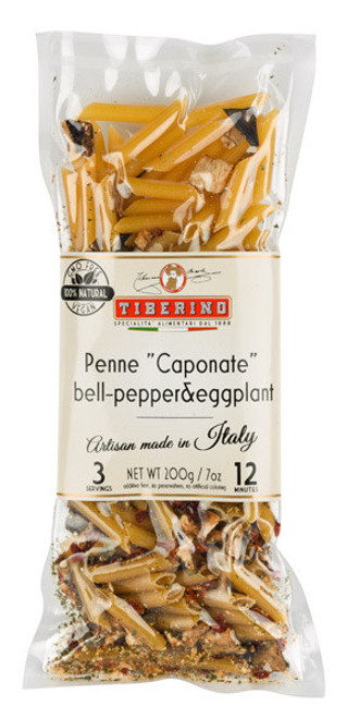 Tiberino Penne Bell Pepper & Eggplant 200g