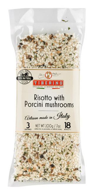 Tiberino Risotto with Porcini Mushrooms 200g