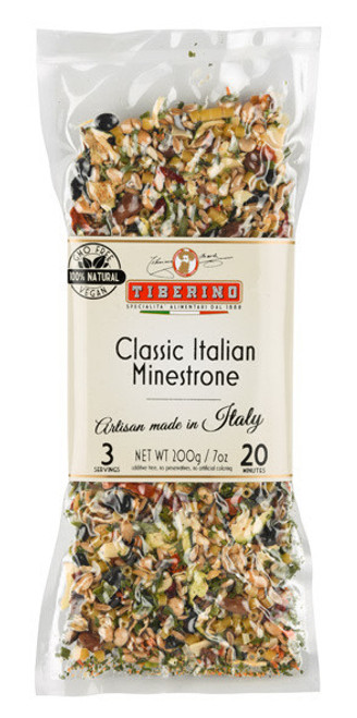 Tiberino Classic Italian Minestrone Soup 150g