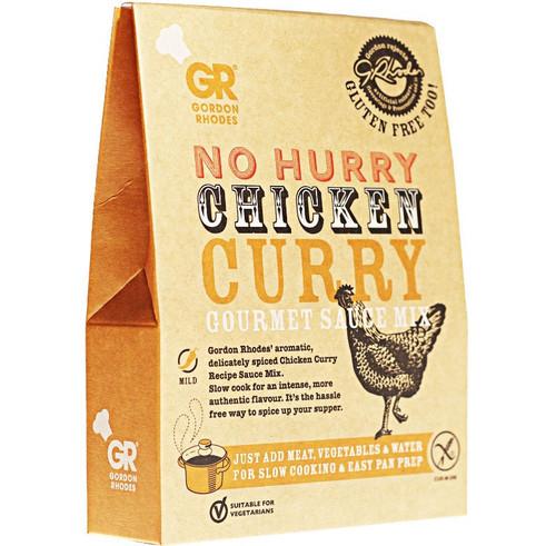 Gordon Rhodes - No Hurry Chicken Curry Gourmet Sauce Mix