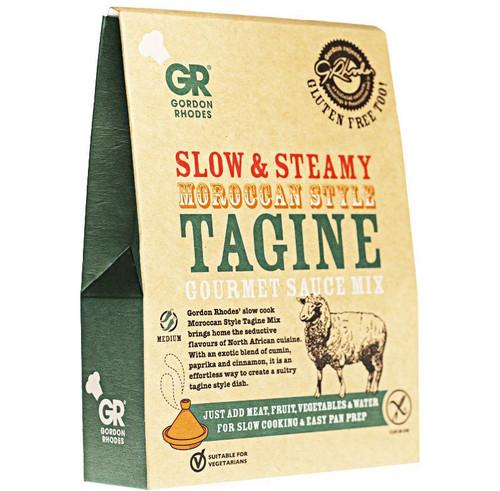 Gordon Rhodes - Slow & Steamy Moroccan Style Tagine Gourmet Sauce Mix