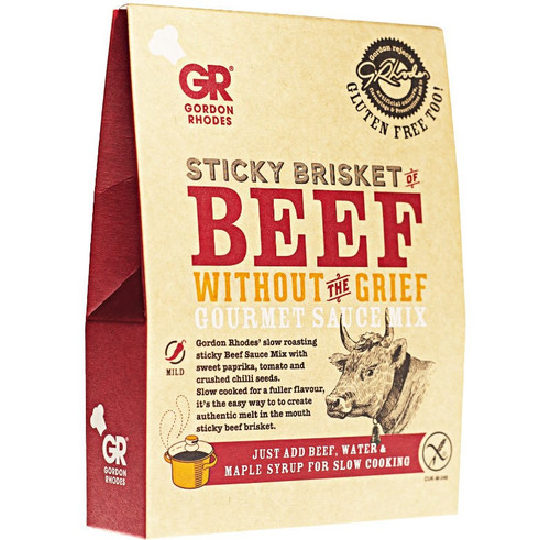 Gordon Rhodes - Sticky Brisket of Beef Without The Grief Gourmet Sauce Mix