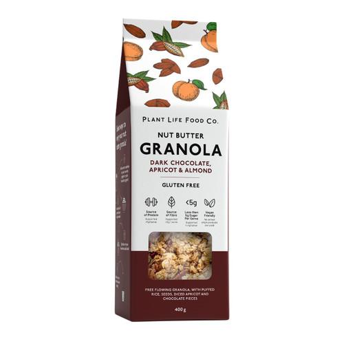 Plant Life Food Co Gluten Free Granola - Dark Choc Hazelnut 400g