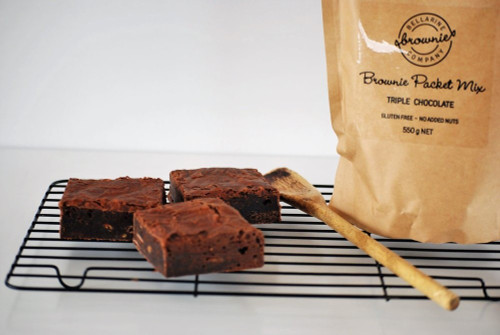 Bellarine Brownies Company - TRIPLE CHOCOLATE BROWNIE PACKET MIX
