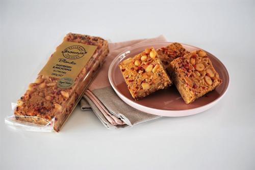 Bellarine Brownies Company - RASPBERRY & MACADAMIA BLONDIE