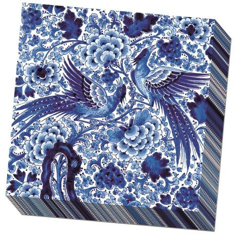 Paper Napkins by Bekking & Blitz - Royal Delft Blue