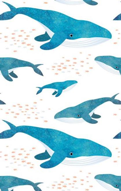 Tea Towel - Whale