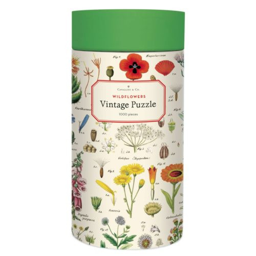 Cavallini 1000 Piece Puzzle - Wildflowers