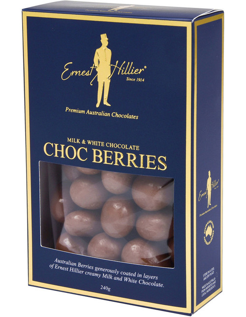 Ernest Hillier Box Milk Chocolate  Chocolate Berries 240g