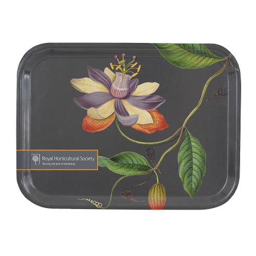 Burgon & Ball - RHS Passiflora Plywood Tray (royal horticultural society) Mini Tray
