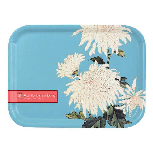 Burgon & Ball - RHS Chrysanthemum Plywood Tray (royal horticultural society) Mini Tray
