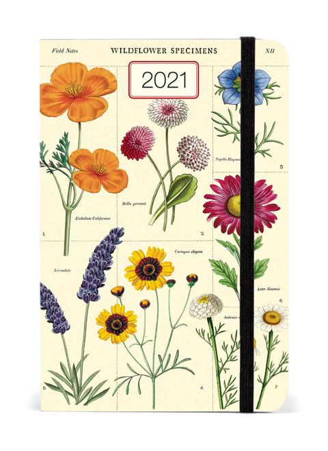 2021 Cavallini & Co. Wildflowers Weekly Planner