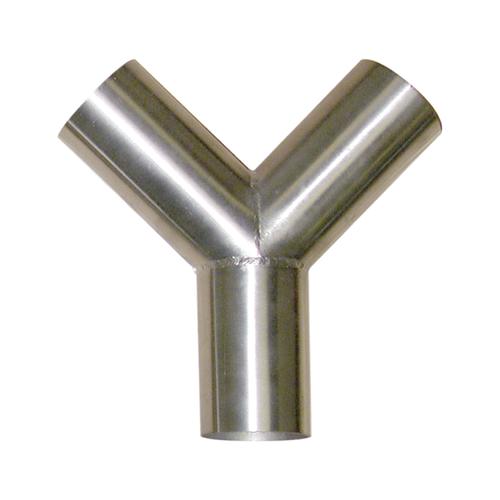 """Vacuum Y, Stainless Steel, 2"""""""