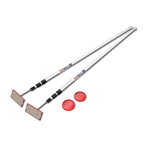 ZipWall, Extension Poles
