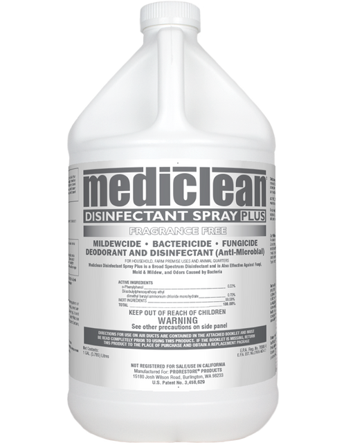 Mediclean Disinfectant Spray Plus Frag Free