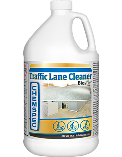 Traffic Lane Cleaner with Biosolv®