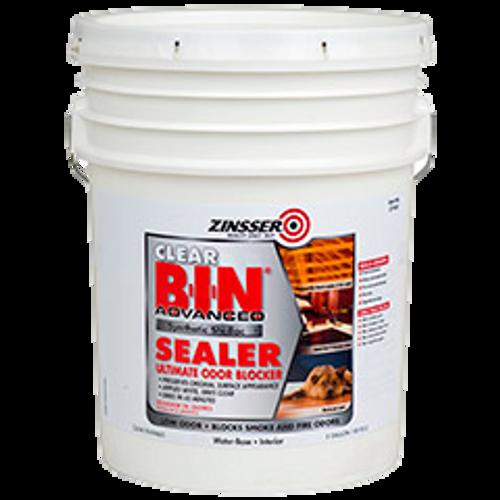 B-I-N® Advanced Synthetic Shellac Sealer Clear (5 GAL)