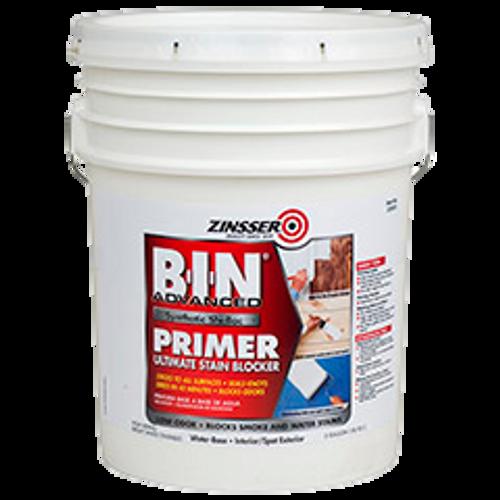 B-I-N® Advanced Synthetic Shellac Primer White (5 GAL)