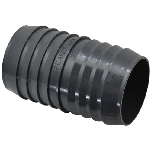 "2"" Vac Connector Plastic"
