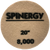 """Hydro-Force, Spinergy Stone Polishing Pad, Yellow, 8,000 Grit, 20"""""""