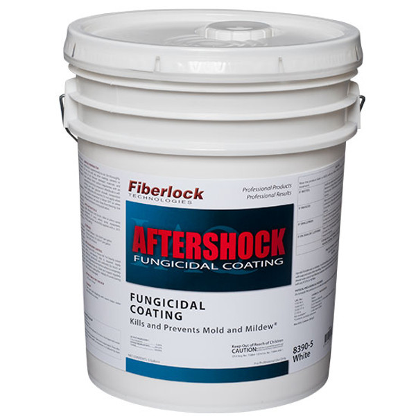 AfterShock EPA Reg Fungicidal Coating-White 5/gal