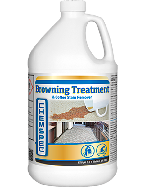 Browning Treatment and Coffee Stain Remover