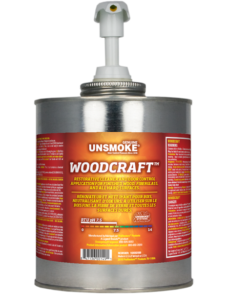 Unsmoke Woodcraft™ Restoration Cleaner