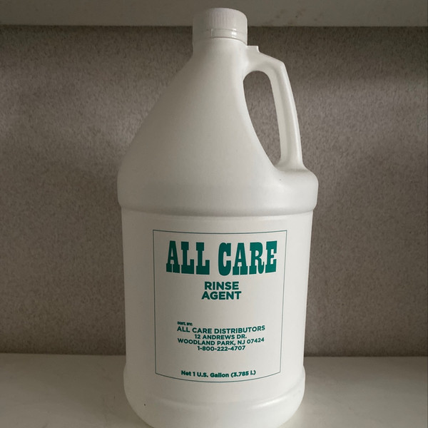 ALL CARE RINSE AGENT 1 GAL