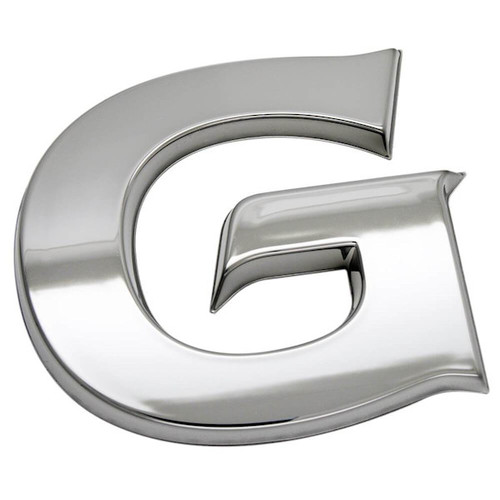 Chrome G Emblem