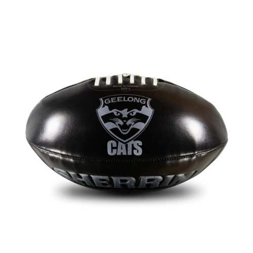 Black Soft Touch Football - Silver
