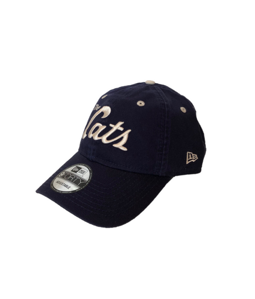 New Era 19 9Forty 'The Cats' Cap - Navy