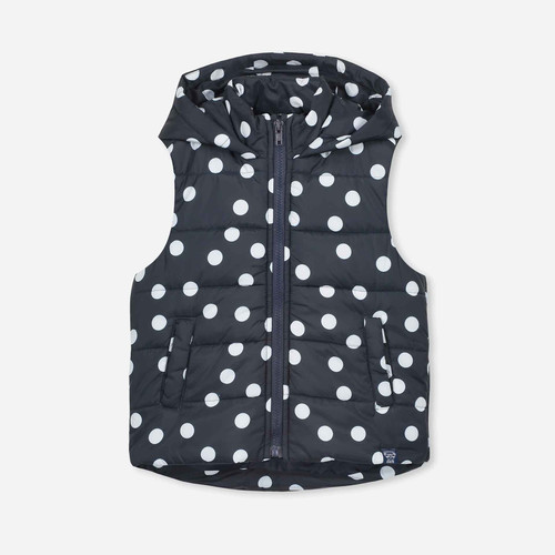 Cotton On Kids Dot Puffer Vest