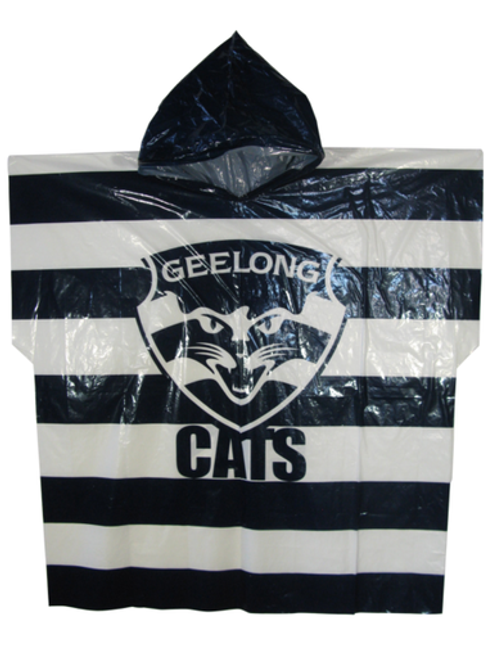 Geelong Cats Poncho