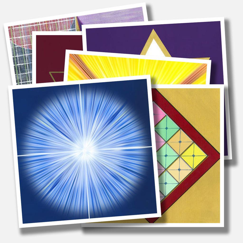 22 Ascended Master Portal Prints Pack - Medium size print